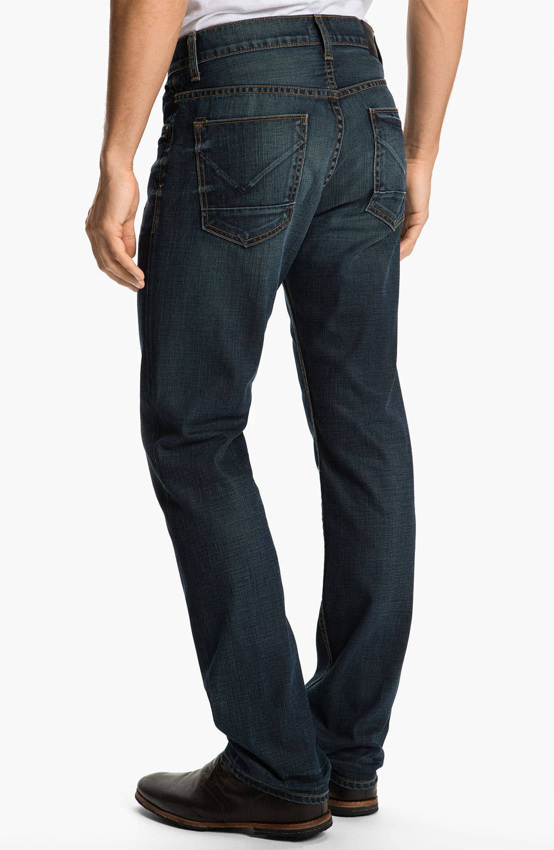 Main Image - Hudson Jeans 'Dandy' Slouchy Straight Leg Jeans (Shovel)