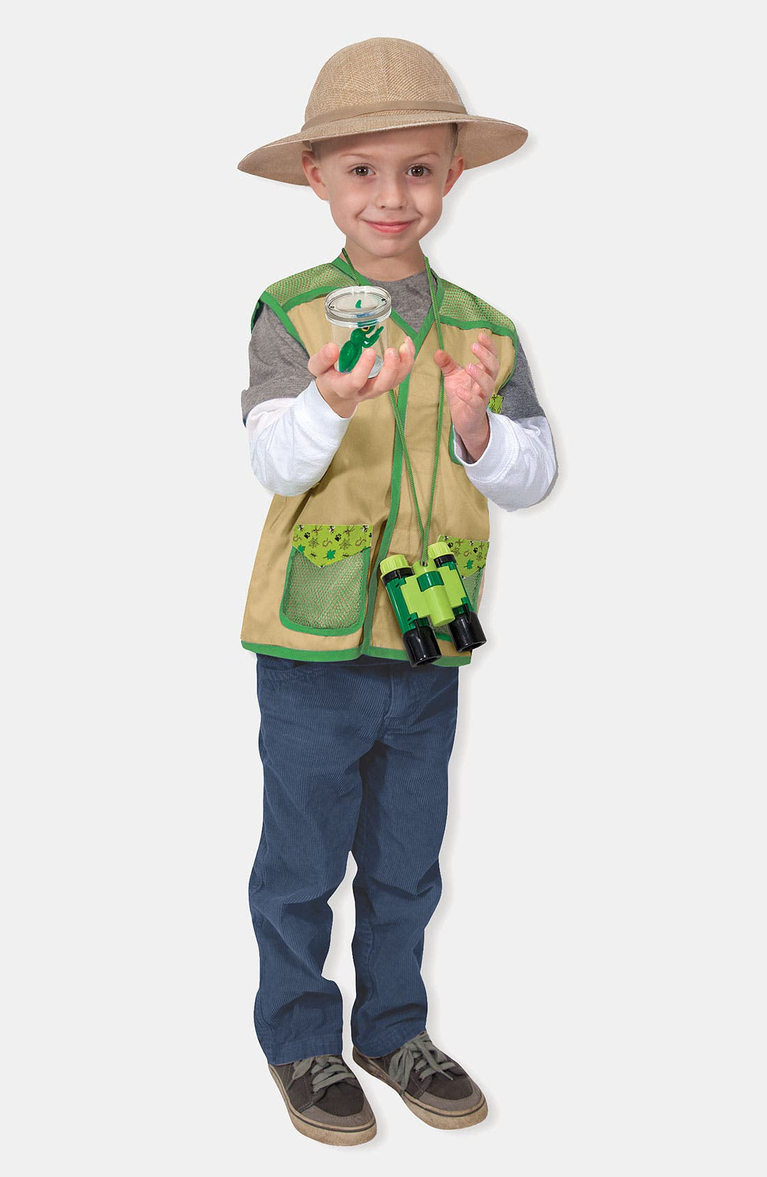 Alternate Image 3  - Melissa & Doug 'Backyard Explorer' Costume (Toddler)