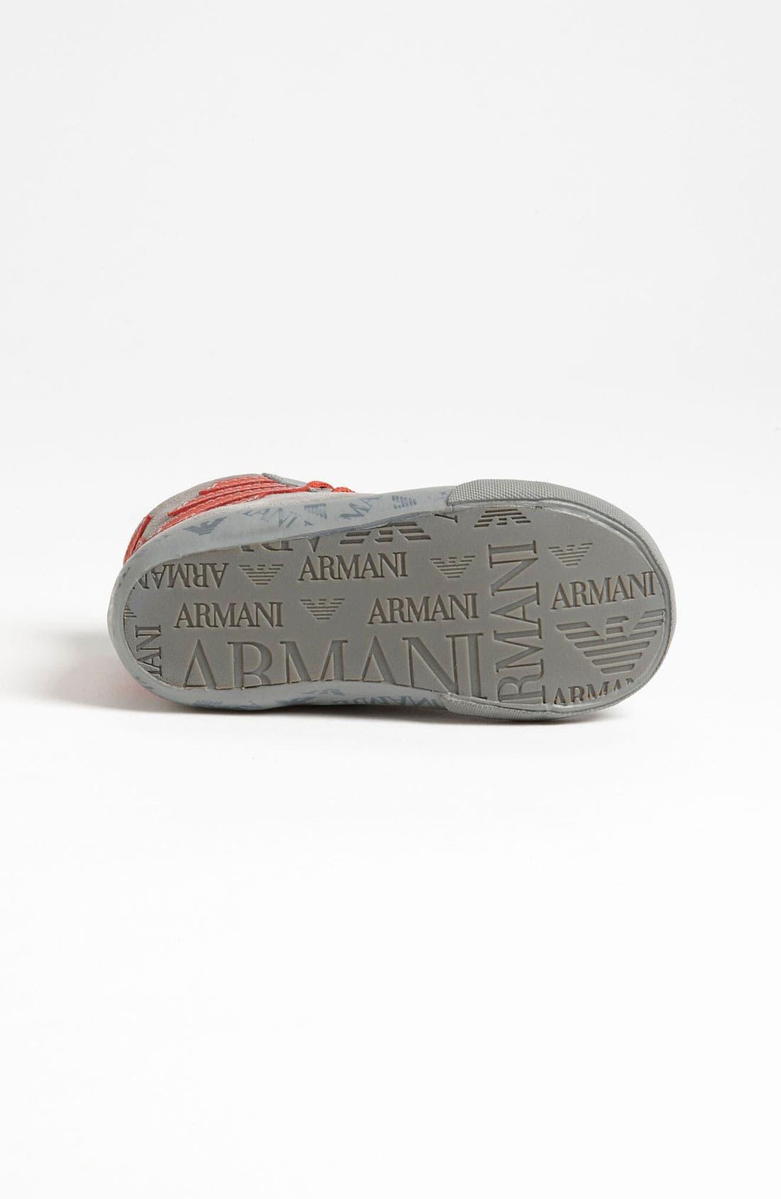 Alternate Image 4  - Armani Junior 'Eagle' Sneaker (Walker & Toddler)