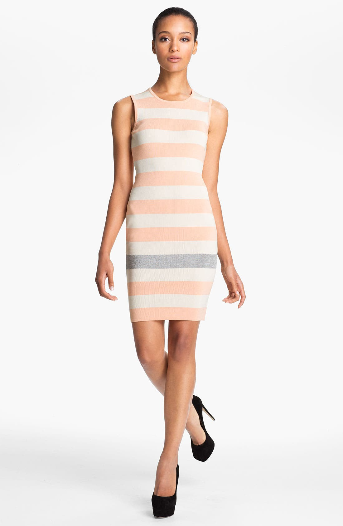 Alternate Image 1 Selected - camilla and marc 'Hariett' Stripe Knit Tank Dress