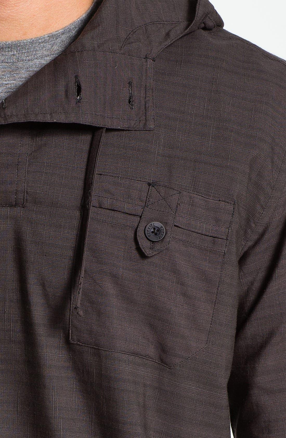 Alternate Image 3  - Ezekiel 'Cedar' Hooded Woven Pullover