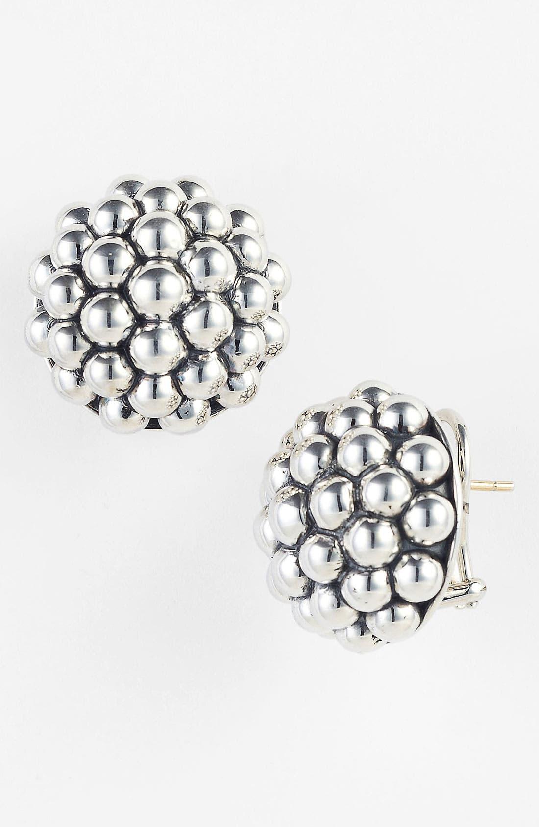 Alternate Image 1 Selected - LAGOS 'Bold' Caviar Stud Earrings