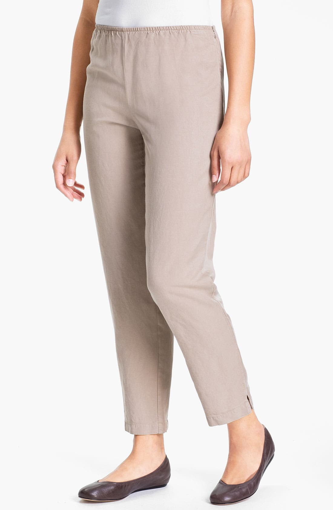 Main Image - Eileen Fisher Slim Ankle Pants