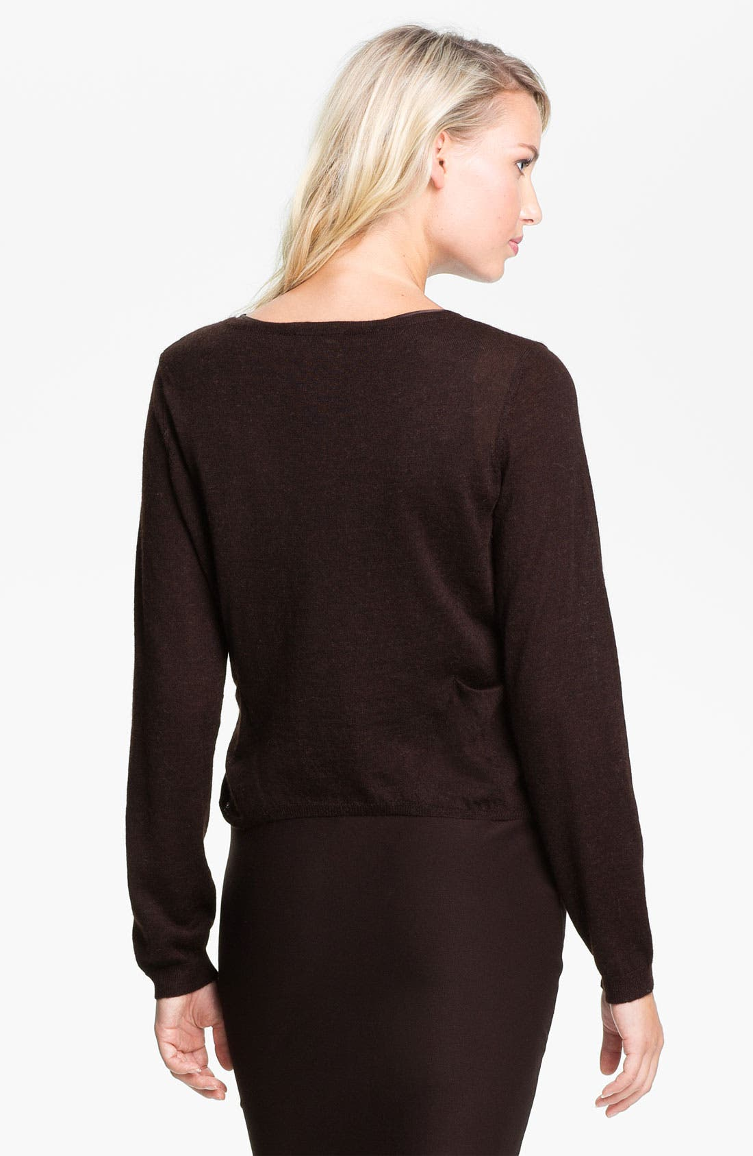 Alternate Image 2  - Eileen Fisher Alpaca Cardigan