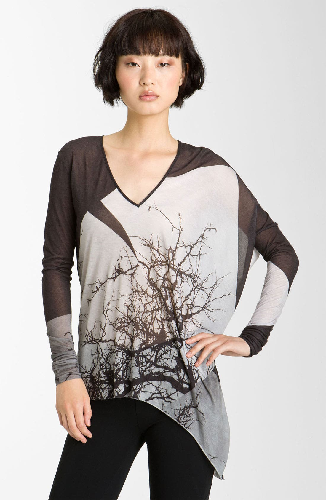 Alternate Image 1 Selected - Helmut Lang 'Tree Collage' Top