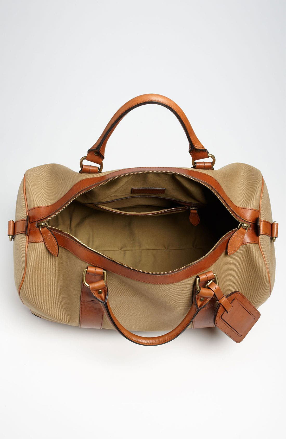 Alternate Image 3  - Polo Ralph Lauren Canvas Gym Bag
