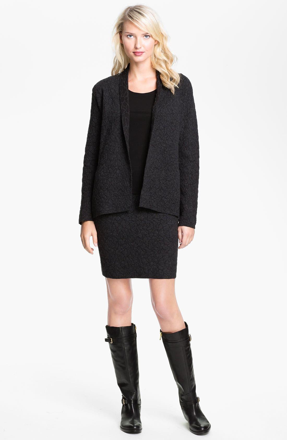 Alternate Image 4  - Eileen Fisher Short Pull-On Skirt