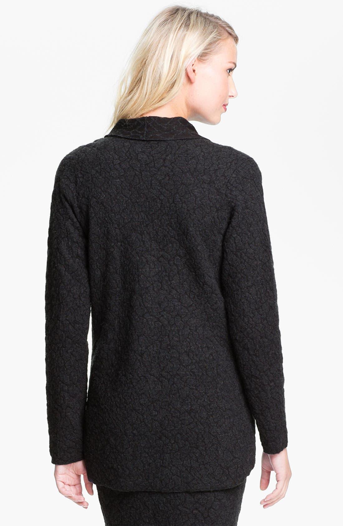 Alternate Image 2  - Eileen Fisher Textured Jacket
