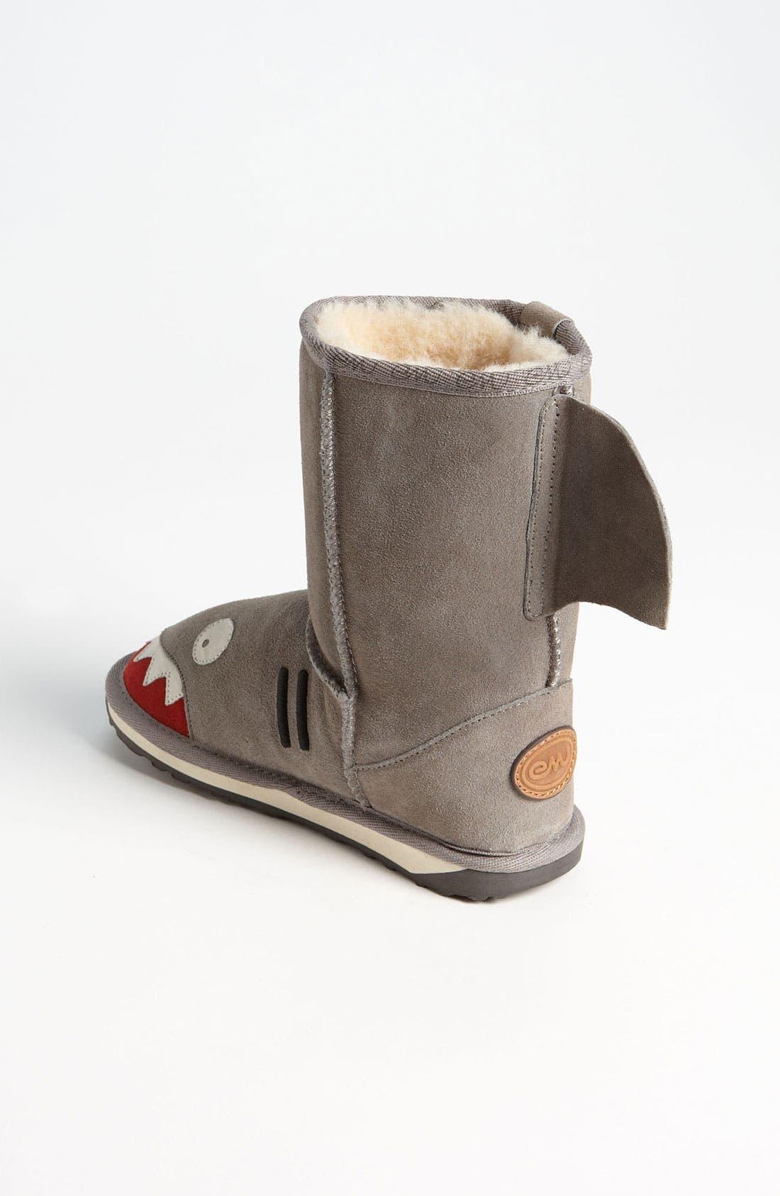 Alternate Image 2  - EMU Australia 'Little Creatures - Shark' Boot (Toddler, Little Kid & Big Kid)