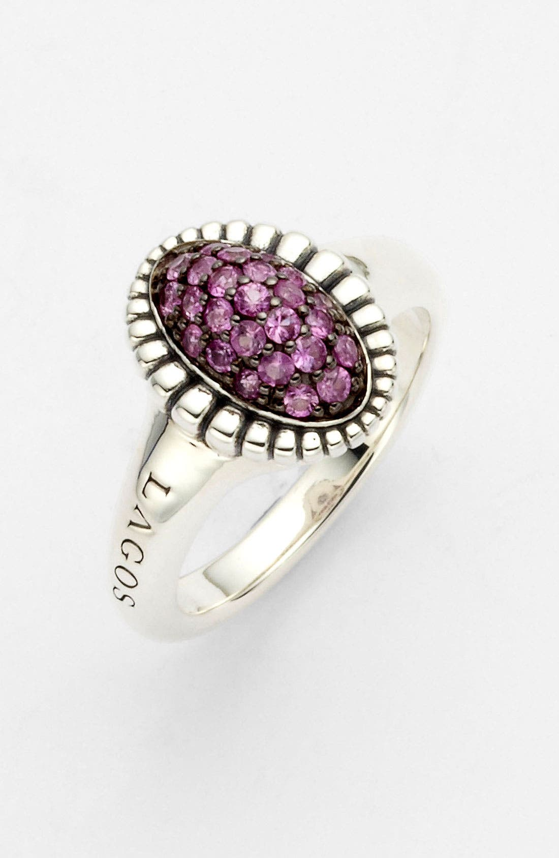 Alternate Image 1 Selected - LAGOS 'Muse' Small Fluted Ring (Online Only)