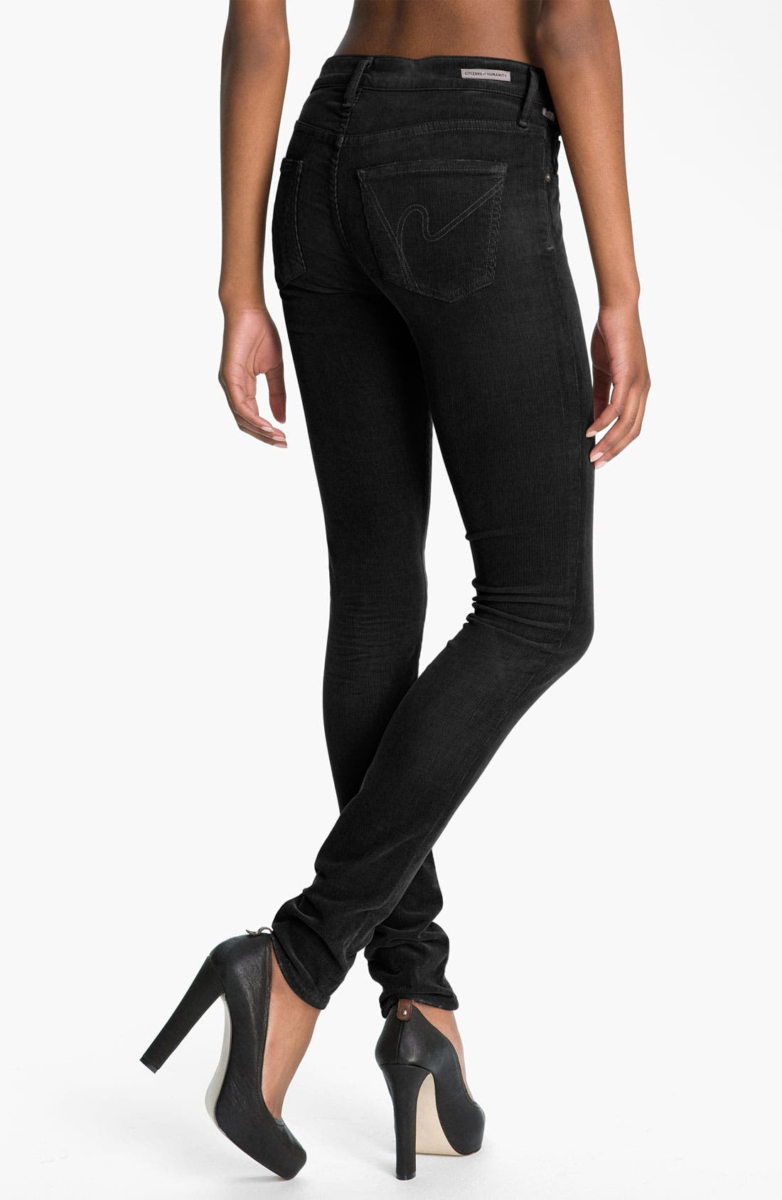 Alternate Image 1 Selected - Citizens of Humanity Skinny Corduroy Pants