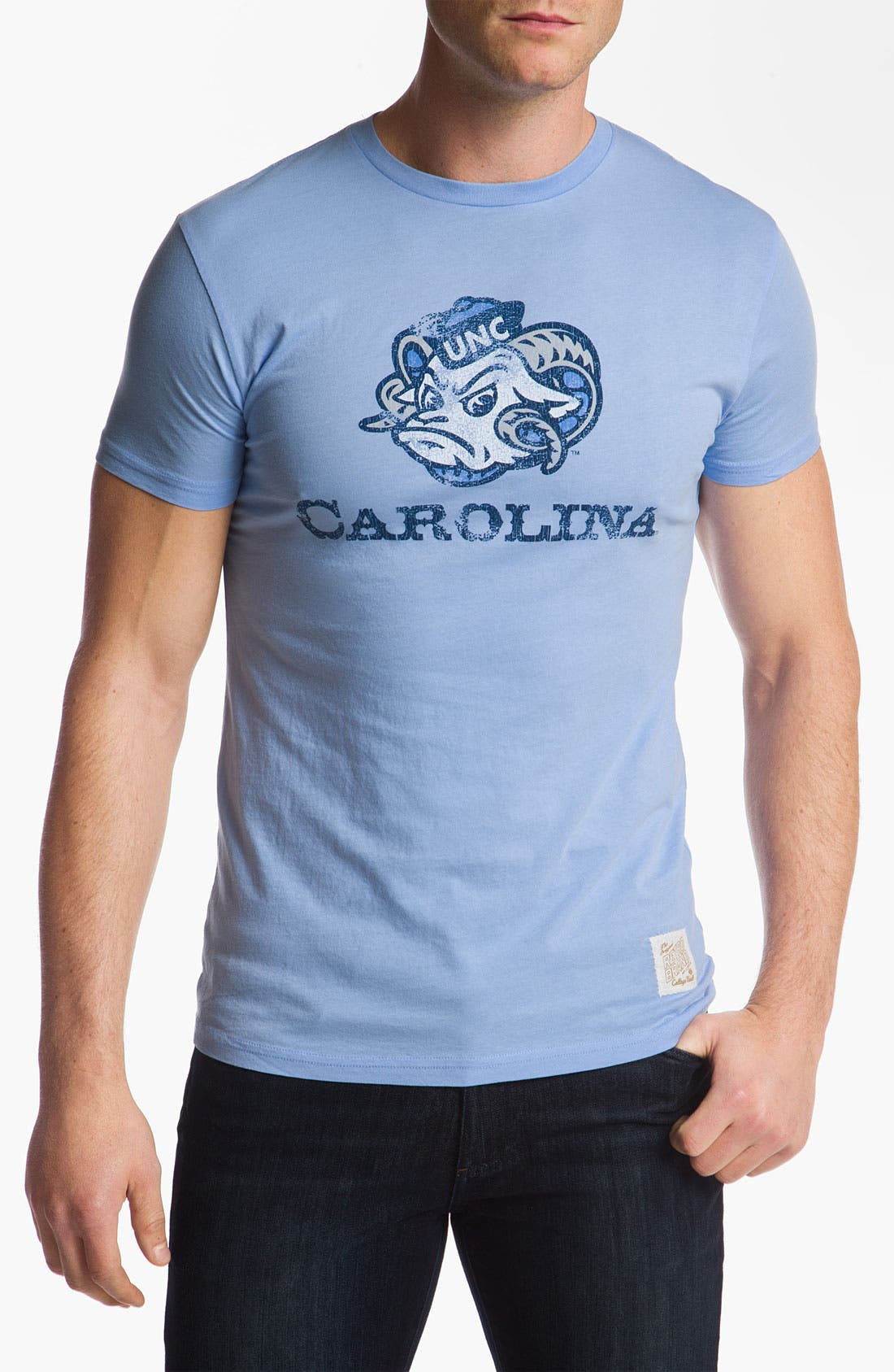 Main Image - The Original Retro Brand 'North Carolina Tar Heels' T-Shirt