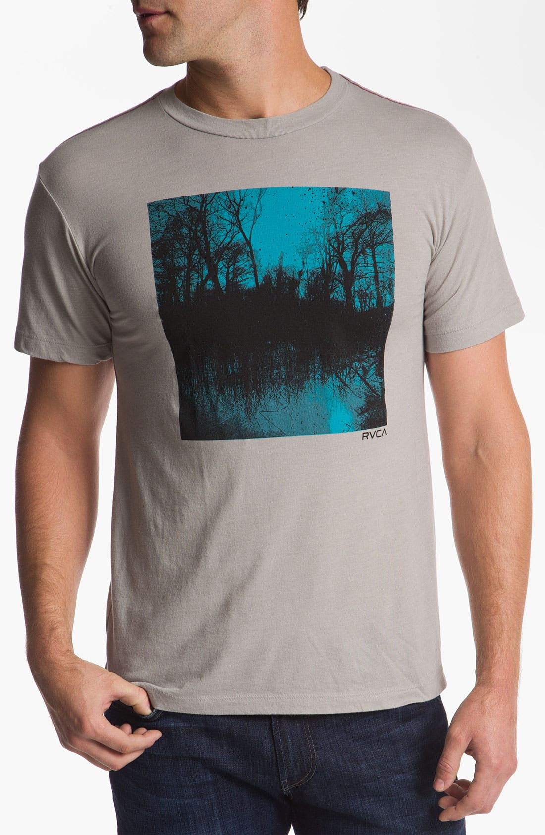 Alternate Image 1 Selected - RVCA 'Lake Travis' Vintage Wash T-Shirt