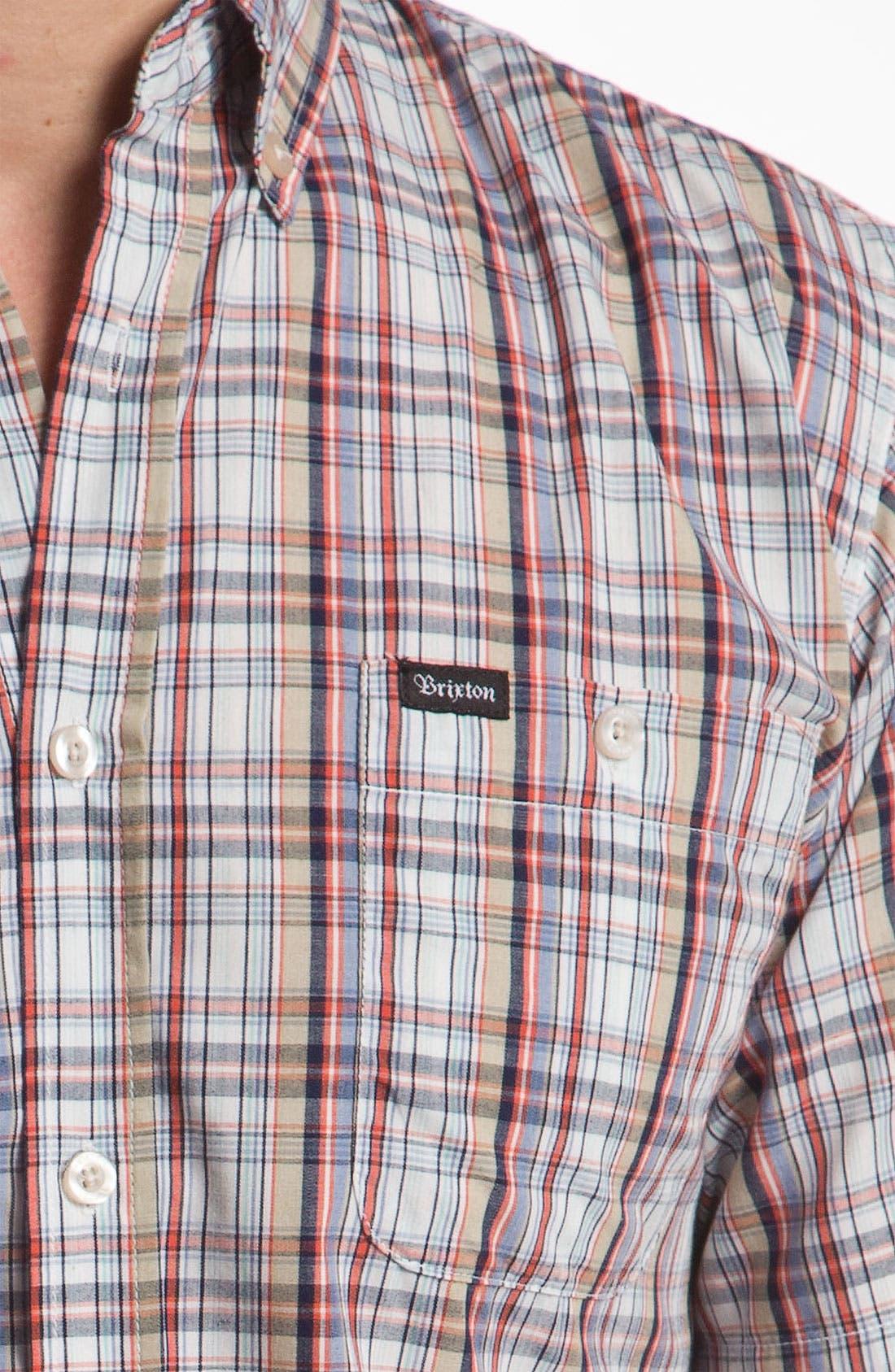 Alternate Image 3  - Brixton 'Howl' Short Sleeve Woven Shirt