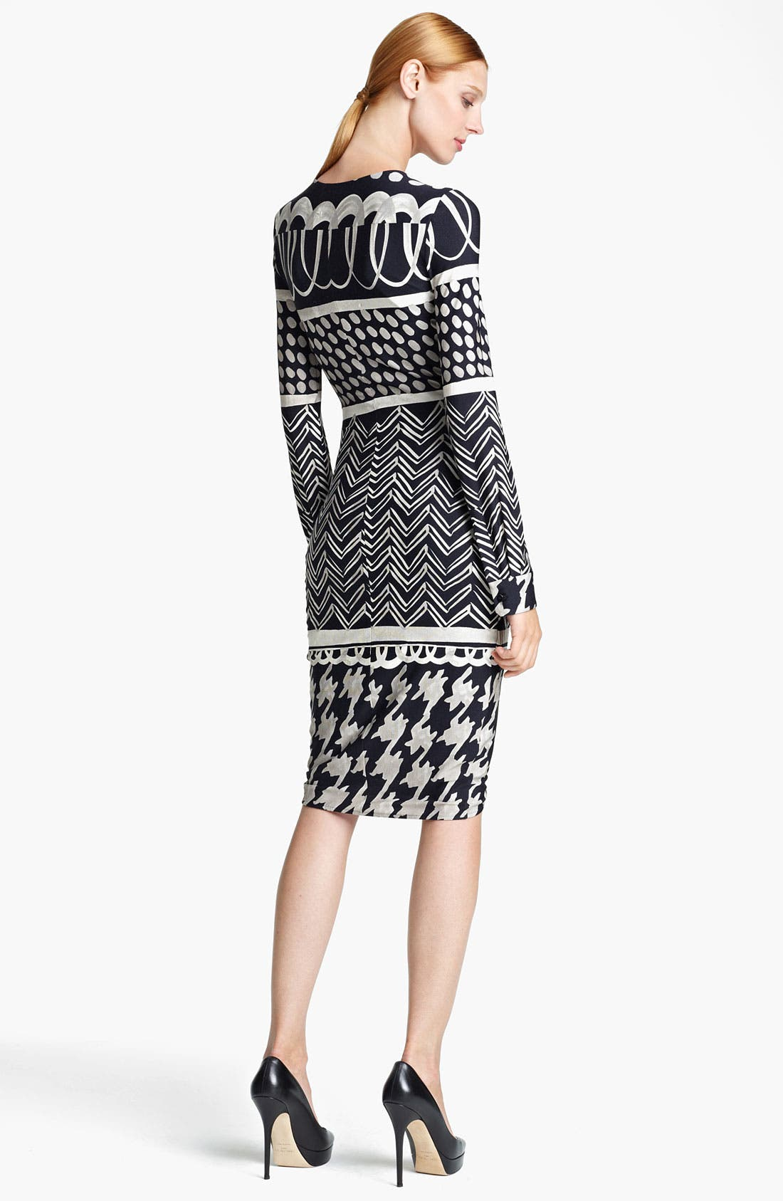 Alternate Image 2  - Max Mara 'Eneide' Print Jersey Dress