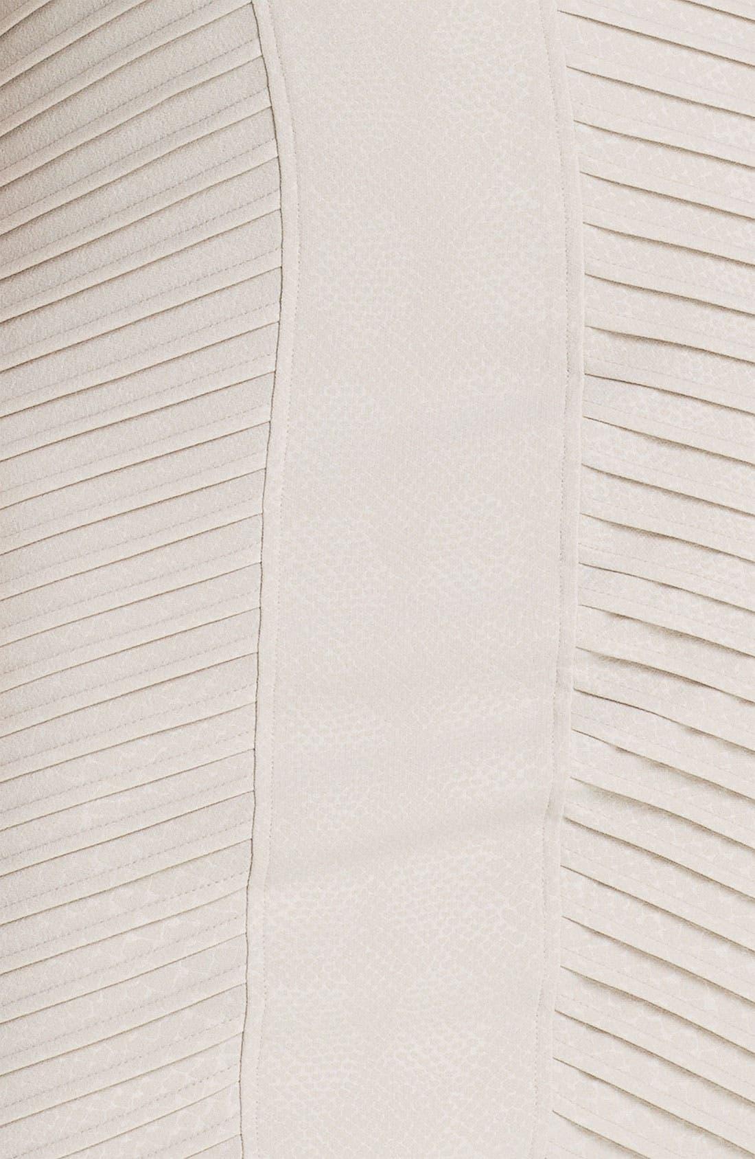 Alternate Image 3  - Adrianna Papell Sleeveless Tucked Sheath Dress (Plus)