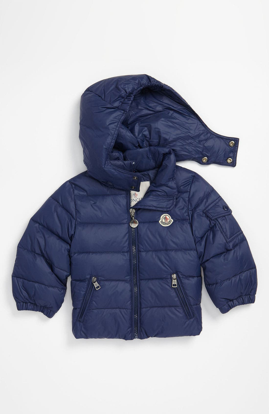 Alternate Image 1 Selected - Moncler Puffer Jacket (Toddler)