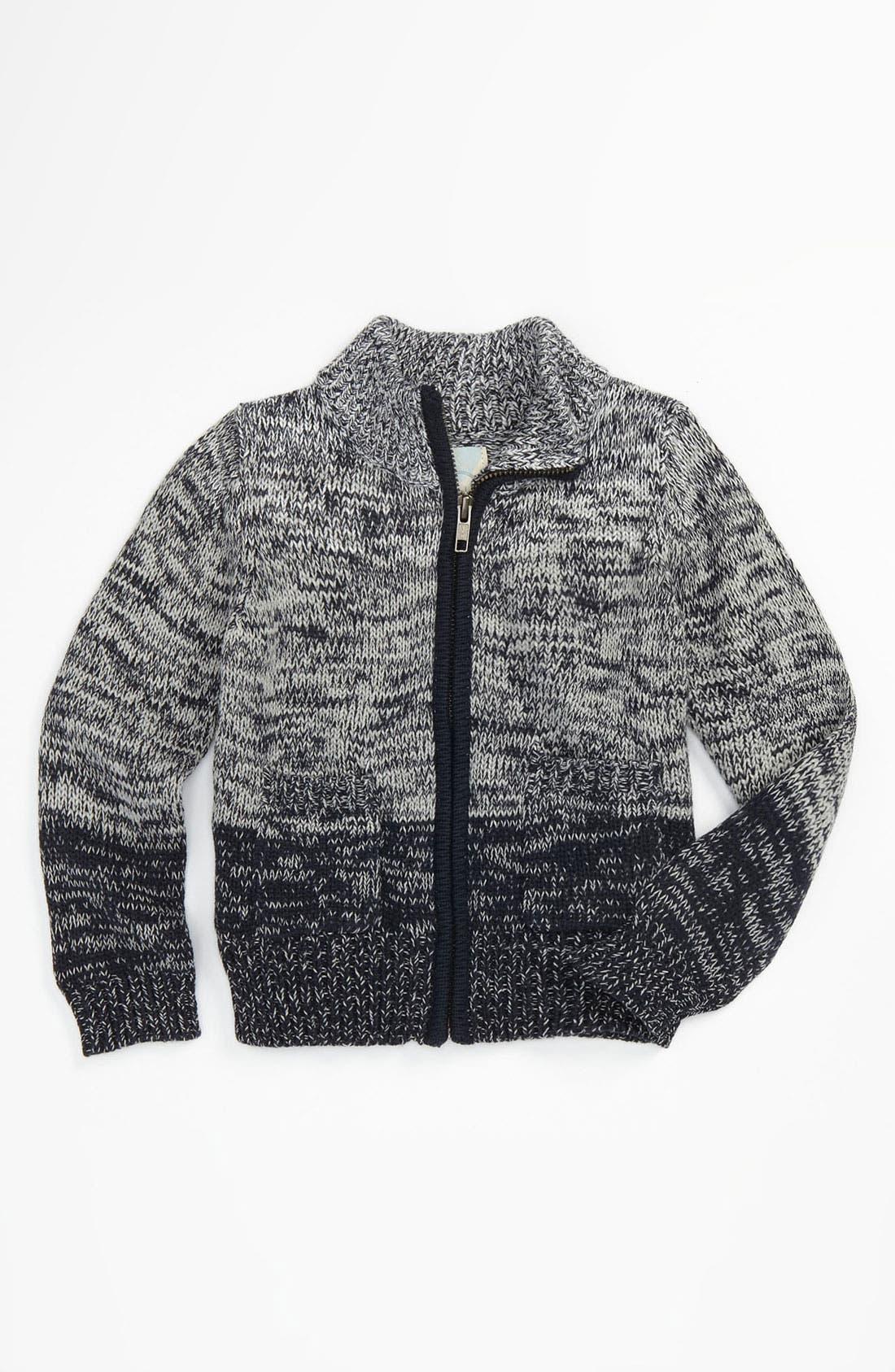 Alternate Image 1 Selected - Peek 'Gerard' Ombré Sweater (Infant)