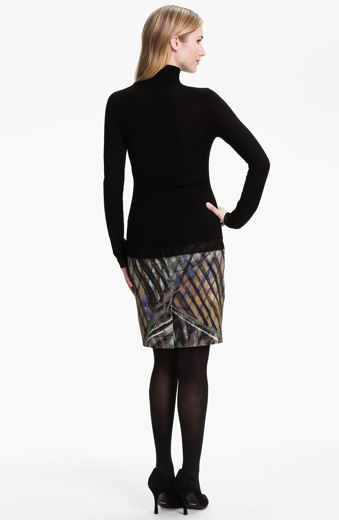 Alternate Image 5  - BOSS HUGO BOSS Wool Jersey Turtleneck