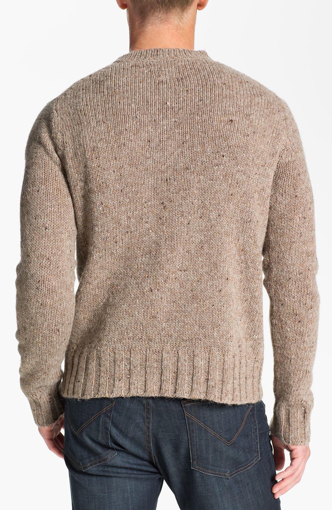 Alternate Image 2  - RVCA 'Ahab' Crewneck Sweater