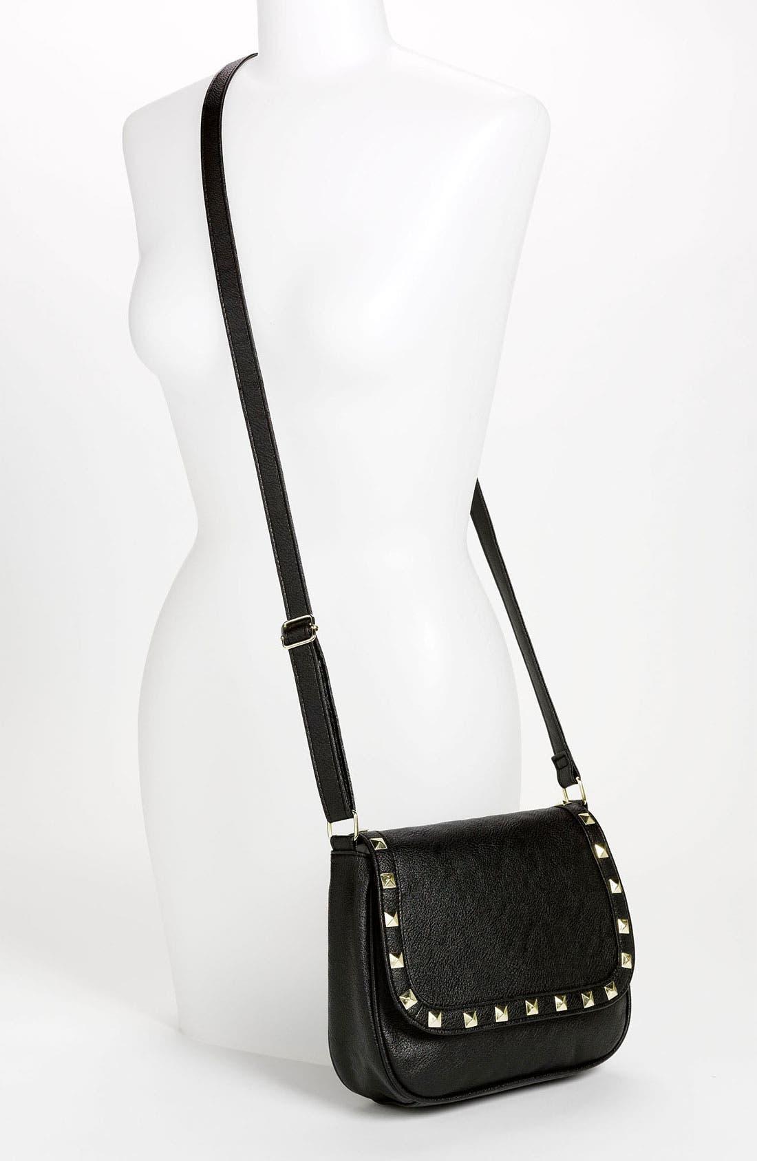 Alternate Image 2  - OMG Studded Crossbody Bag