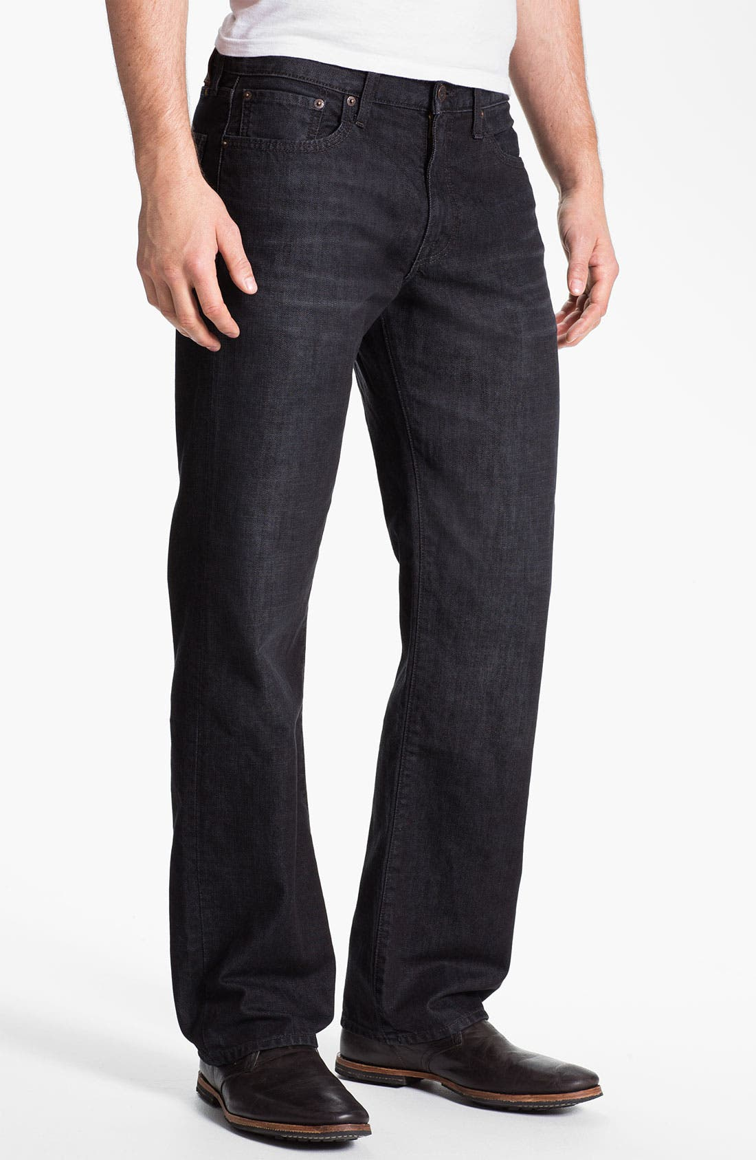 Main Image - Lucky Brand Straight Leg Jeans (Dark Sumner)