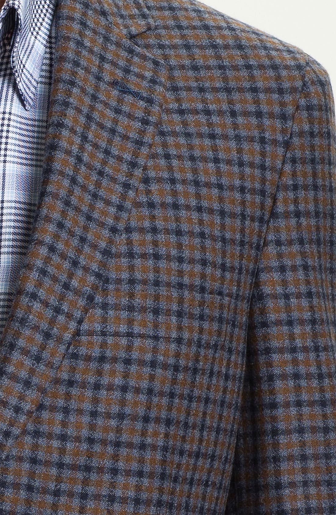 Alternate Image 3  - Peter Millar Wool & Cashmere Sportcoat