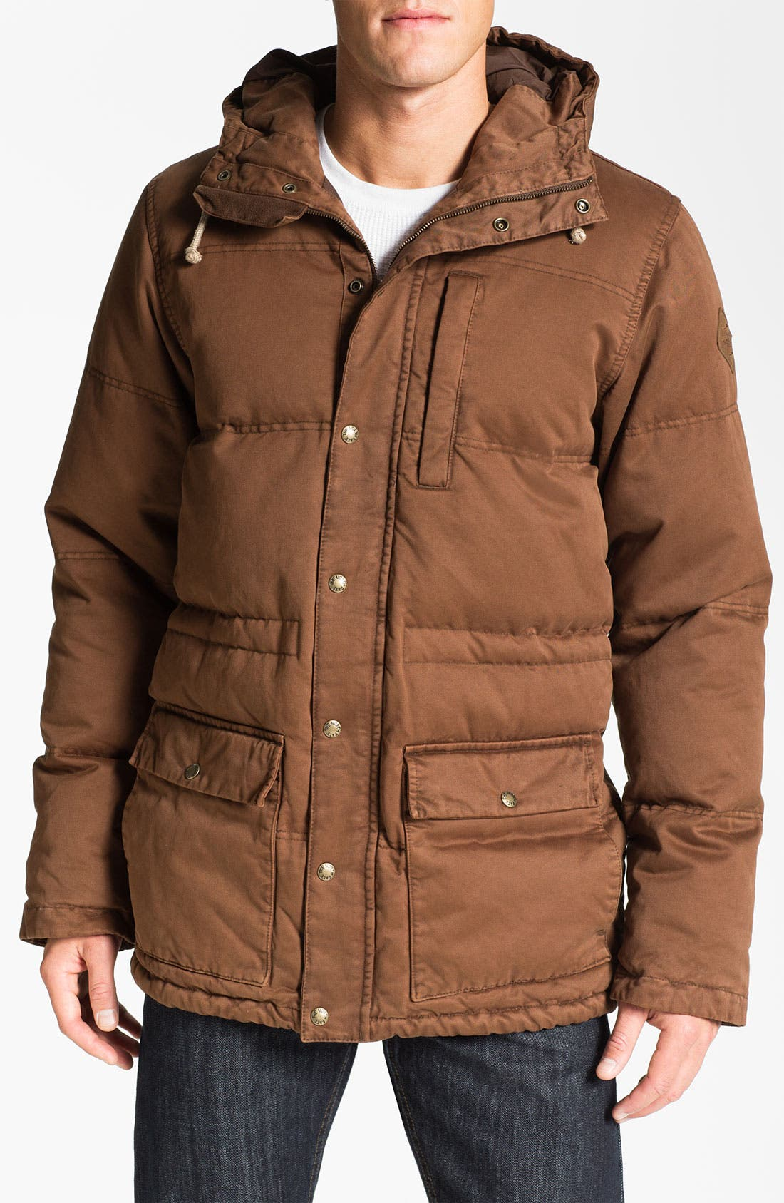 Alternate Image 1 Selected - The North Face 'Tasman' Water Resistant Down Parka
