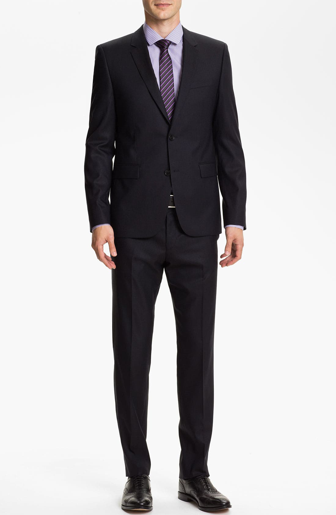Alternate Image 2  - HUGO 'Aeron/Hamen' Extra Trim Fit Suit
