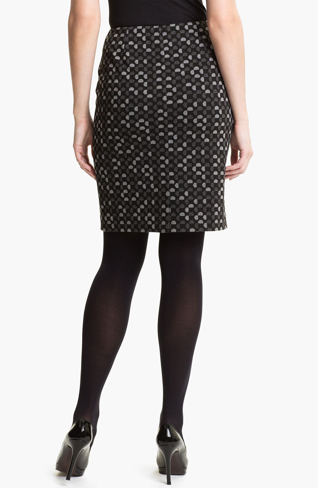 Alternate Image 2  - Halogen® Ponte Pencil Skirt