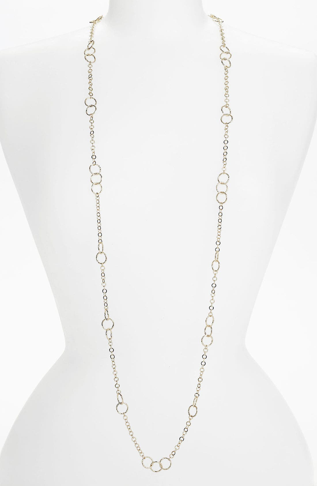 Main Image - Nordstrom Long Circle Link Necklace