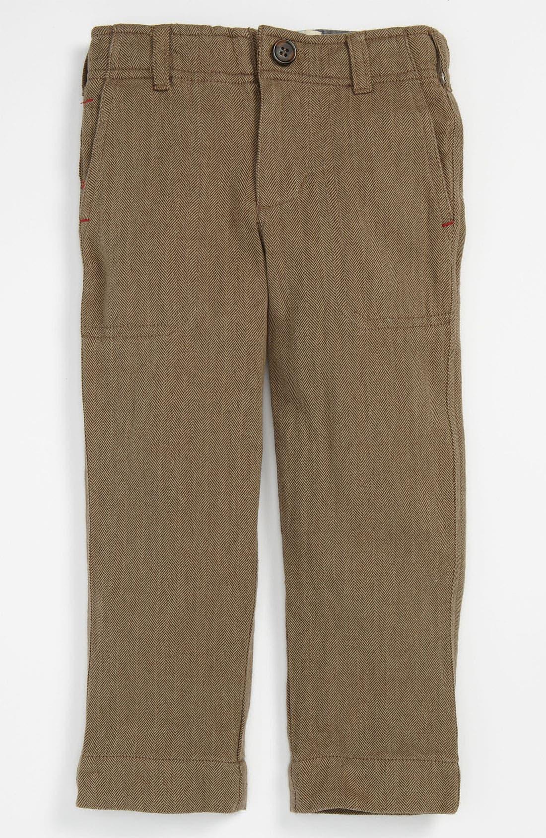 Alternate Image 1 Selected - Peek 'Homestead' Herringbone Pants (Toddler, Little Boys & Big Boys)