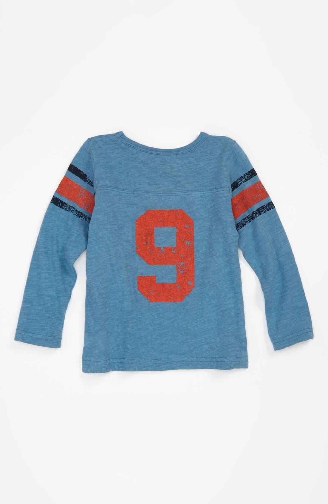 Alternate Image 2  - Peek Long Sleeve Jersey Top (Infant)