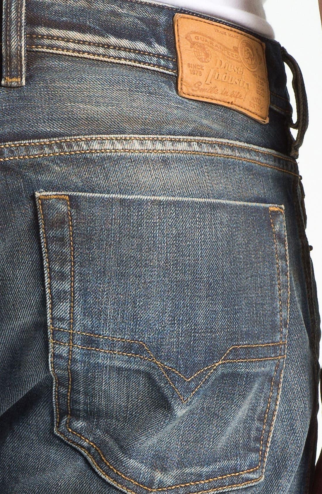 Alternate Image 4  - DIESEL® 'Zatiny' Bootcut Jeans (803M)