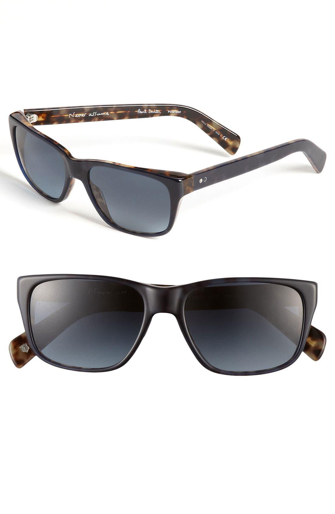Alternate Image 1 Selected - Paul Smith 'Gavyn' Polarized Gradient Sunglasses