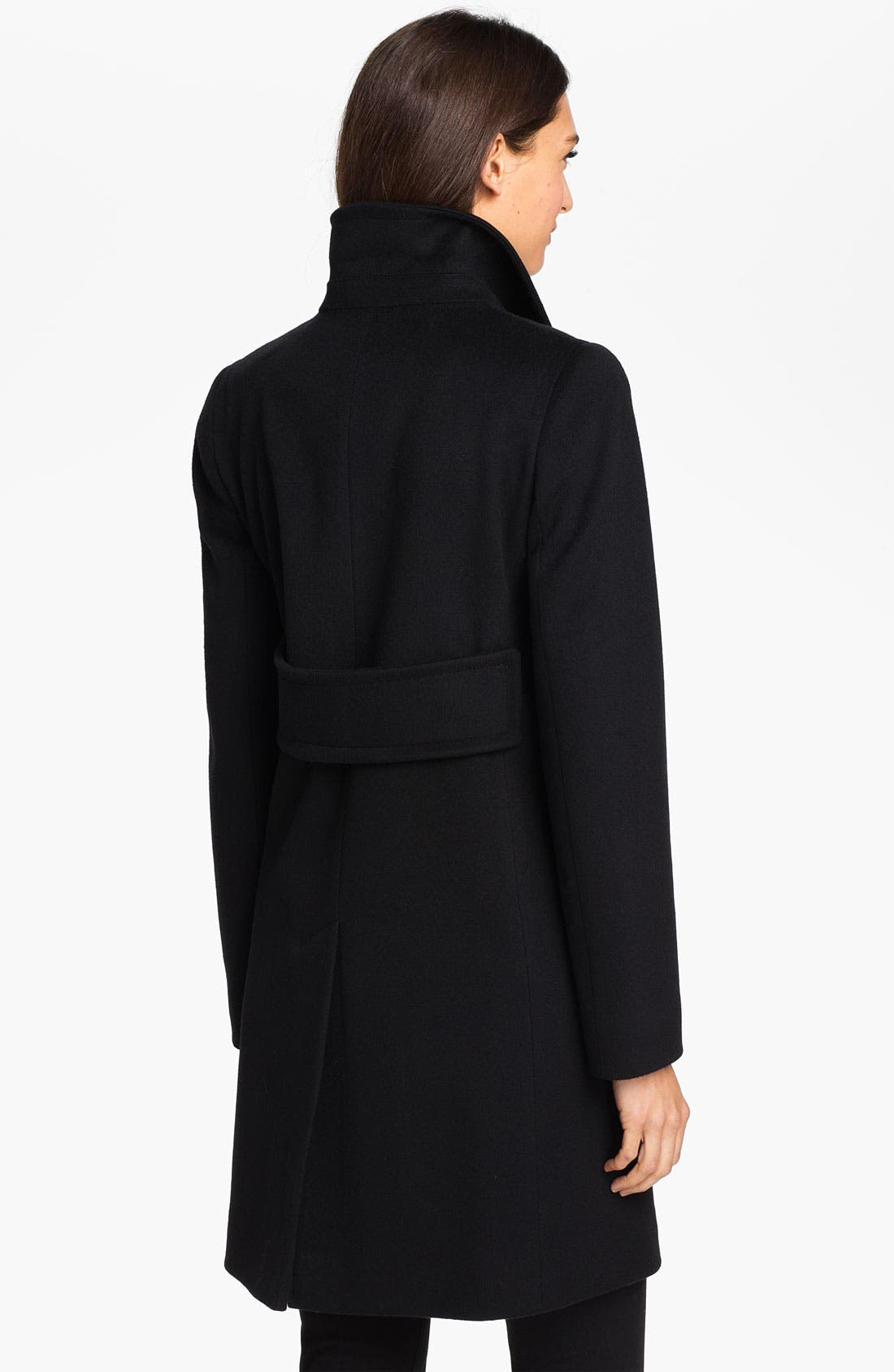 Alternate Image 2  - Fleurette Loro Piana Wool Walking Coat