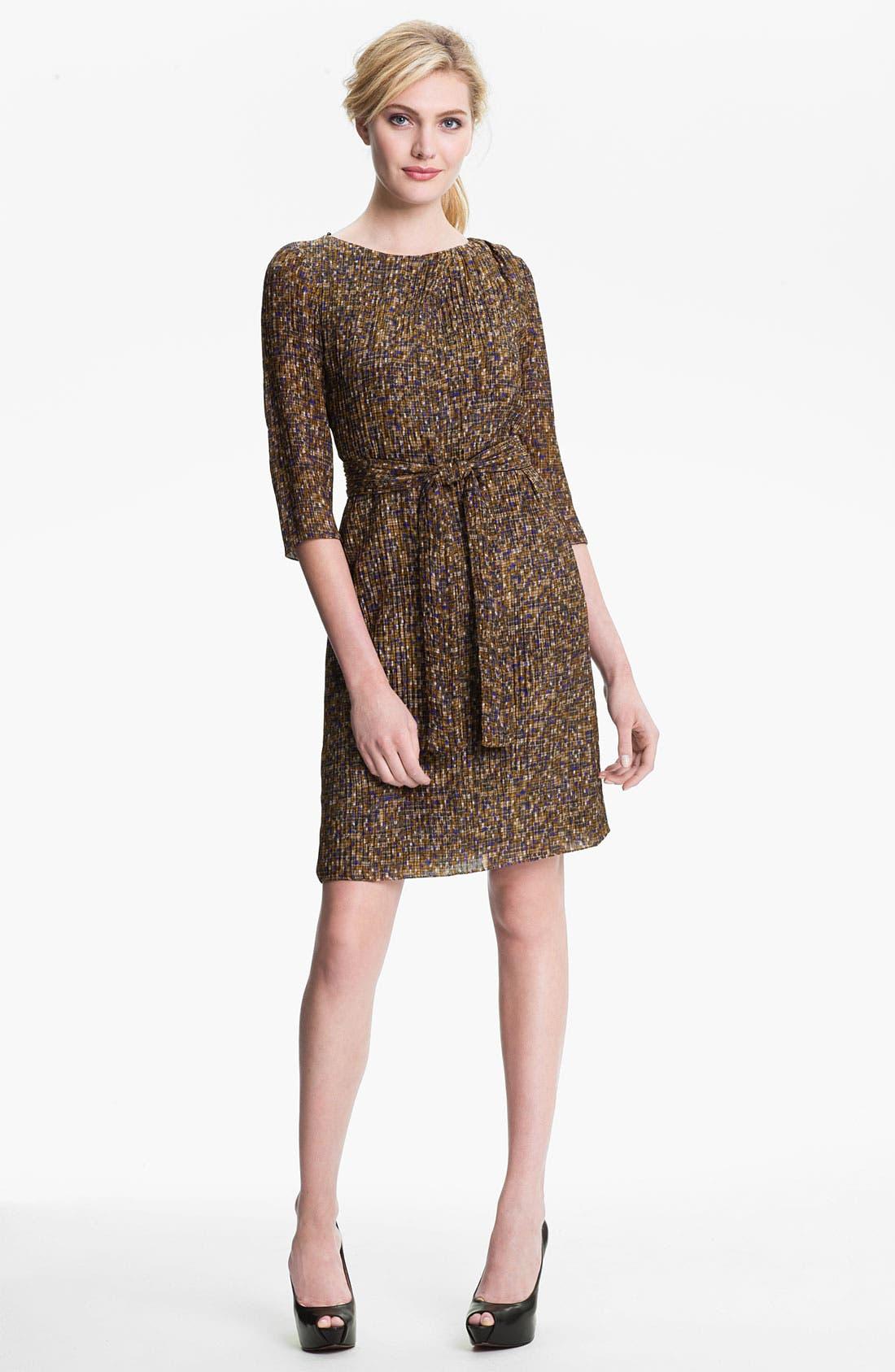 Main Image - BOSS Black 'Darida' Silk Dress