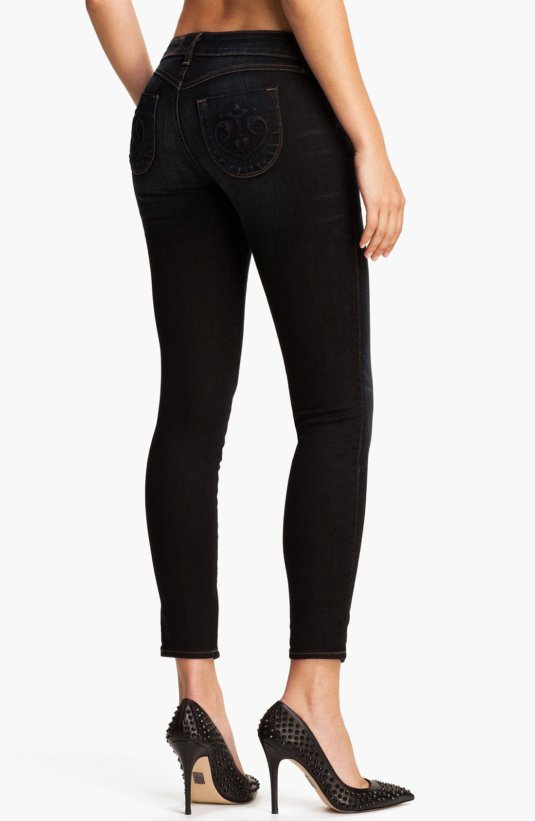 Alternate Image 2  - Siwy 'Hannah' Slim Crop Stretch Jeans (Ride)