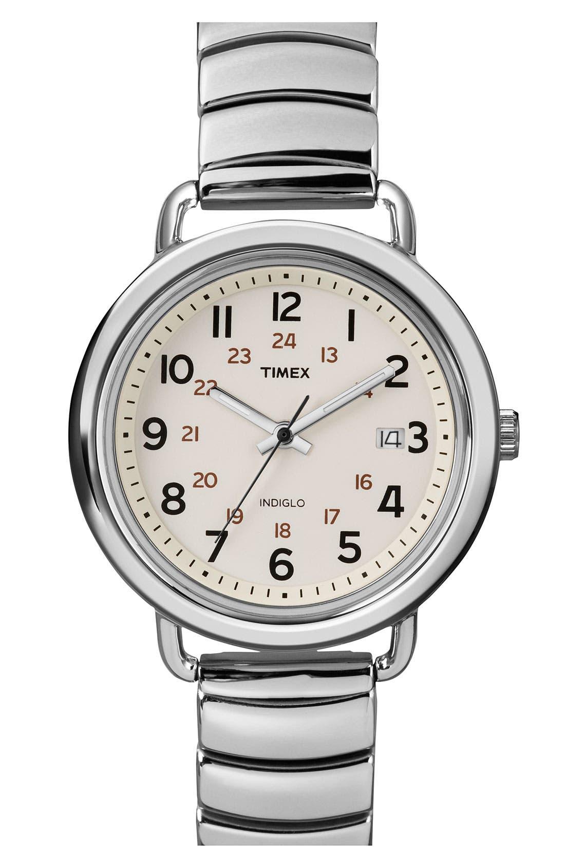 Alternate Image 1 Selected - Timex® 'Camper' Round Bracelet Watch