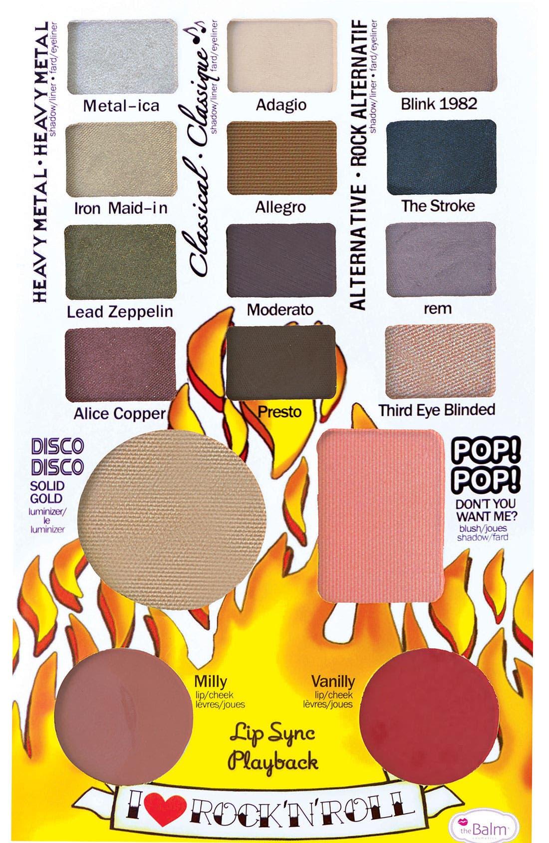 Alternate Image 1 Selected - theBalm 'Balm Jovi Rockstar' Face Palette