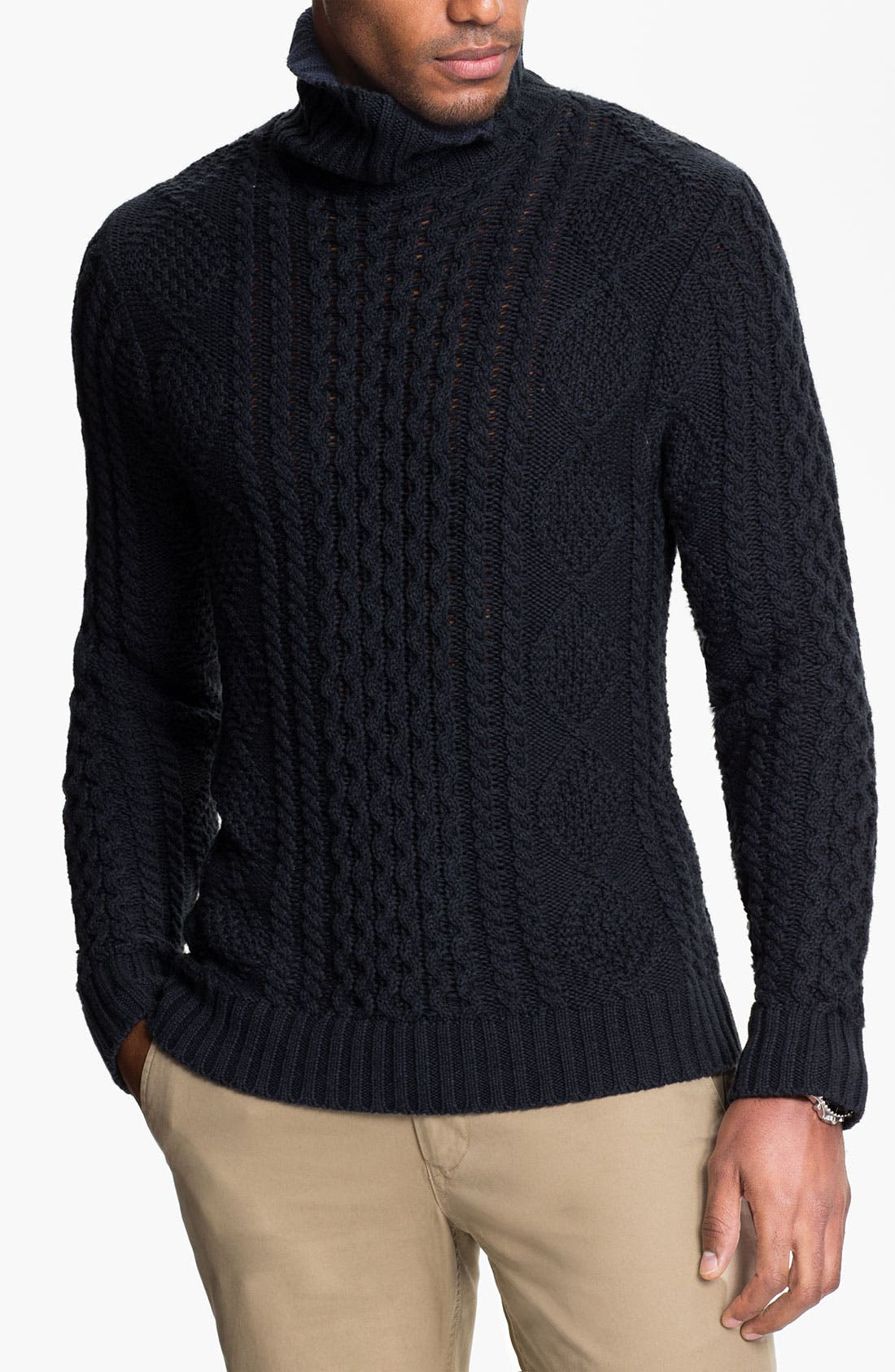 Alternate Image 1 Selected - Wallin & Bros. 'Norwood' Cable Knit Sweater