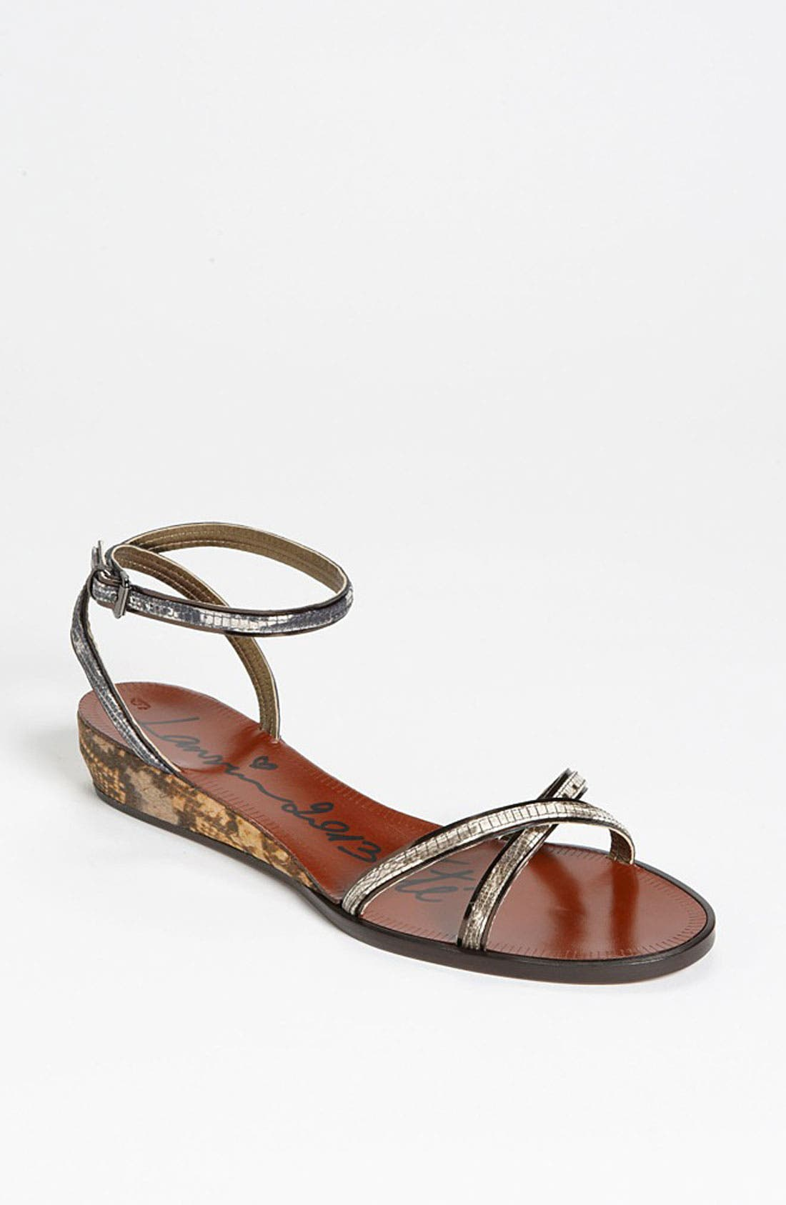 Alternate Image 1 Selected - Lanvin Mini Wedge Sandal