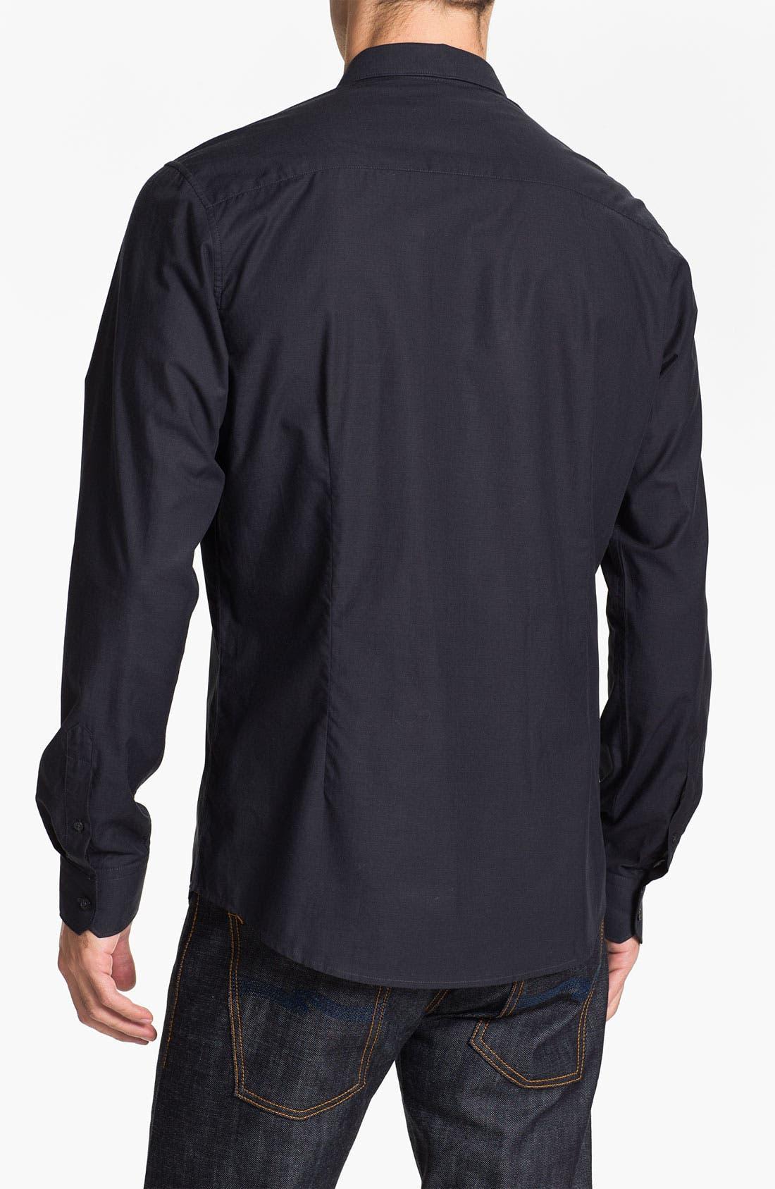 Alternate Image 2  - Ben Sherman Solid Woven Shirt