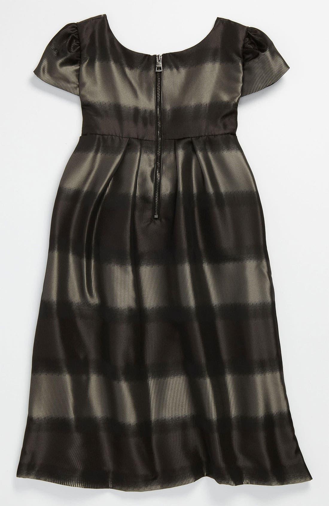 Alternate Image 2  - Burberry Cap Sleeve Dress (Little Girls & Big Girls)