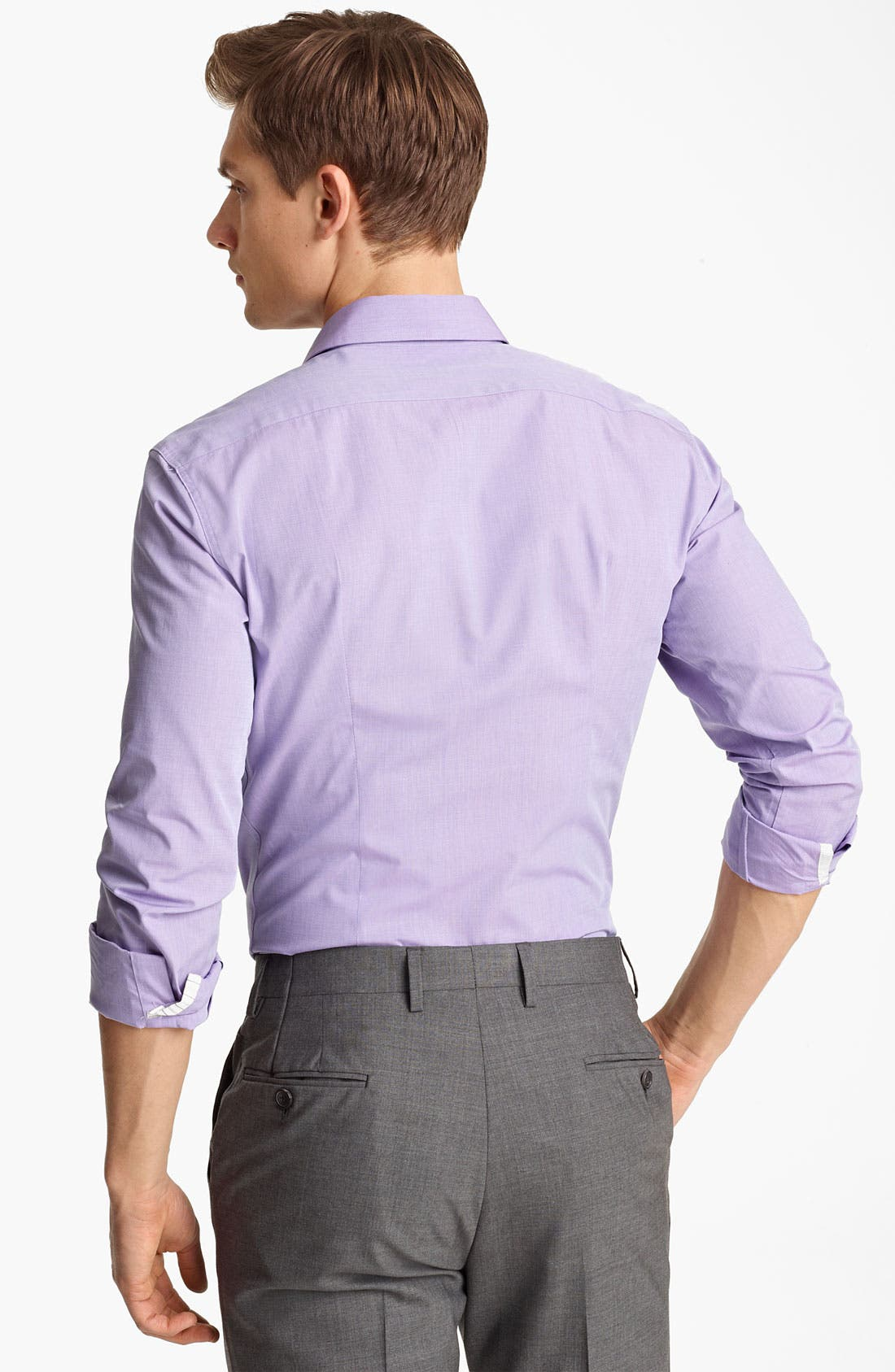 Alternate Image 2  - PS Paul Smith Slim Fit Dress Shirt