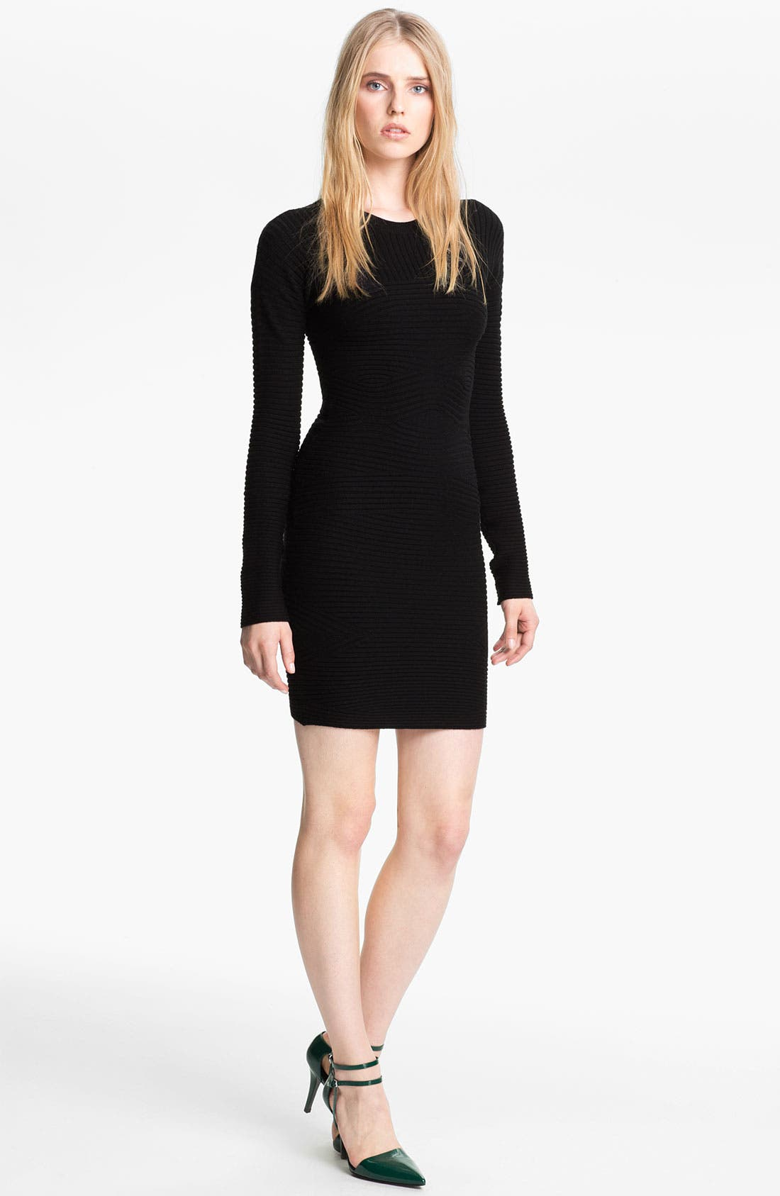 Alternate Image 1 Selected - Alexander Wang Rib Knit Dress