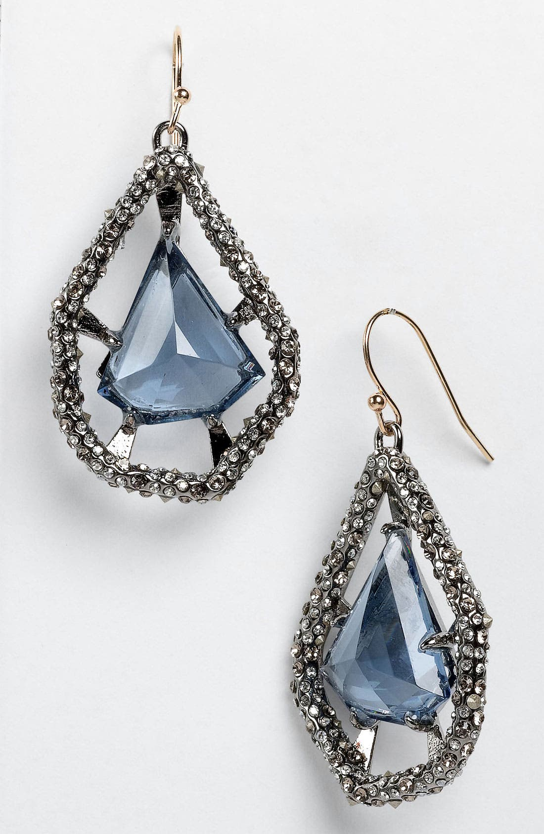 Main Image - Alexis Bittar 'Miss Havisham - Deco' Shield Drop Earrings (Nordstrom Exclusive)