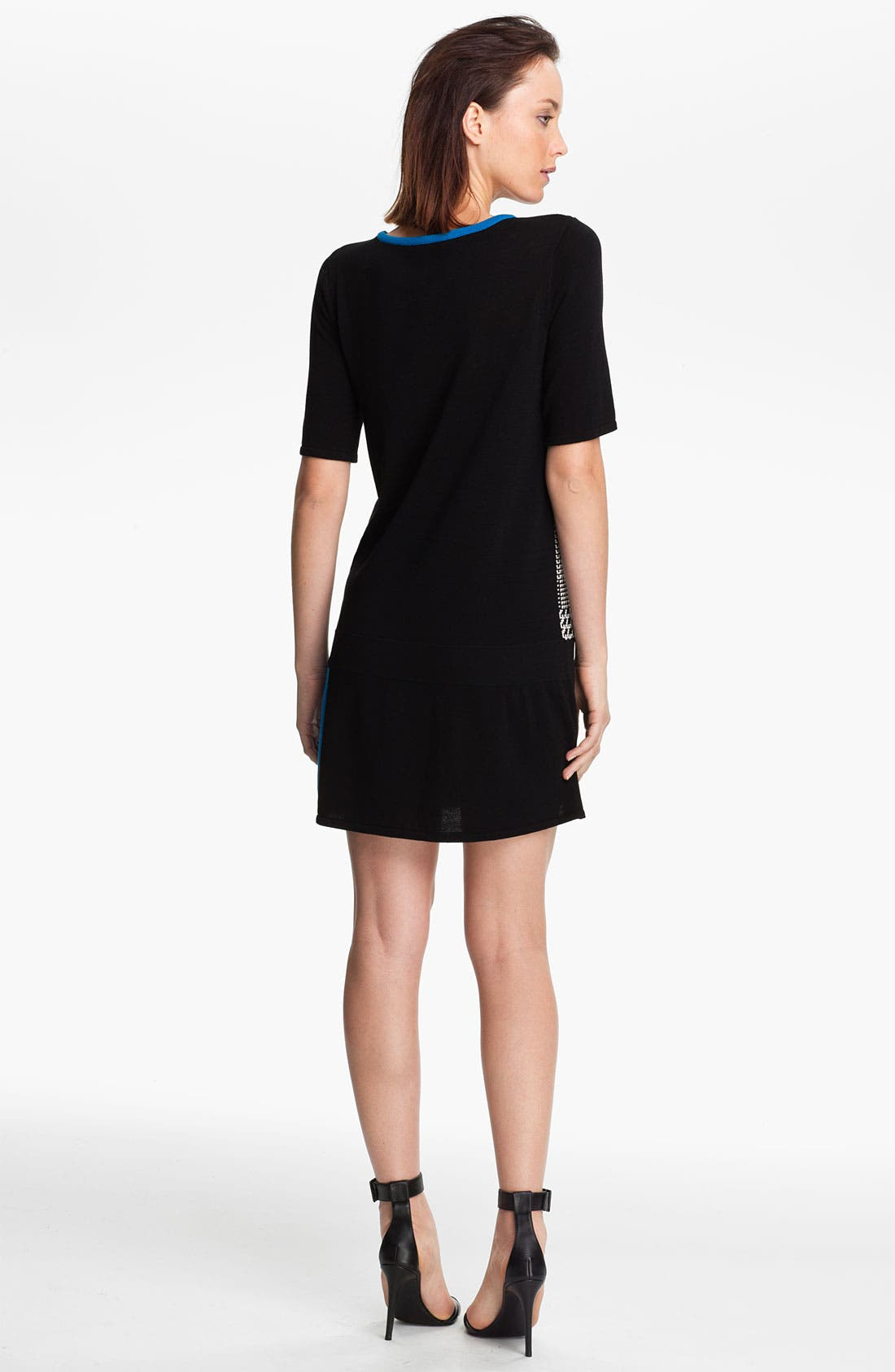 Alternate Image 2  - Tibi Intarsia Knit Sweater Dress