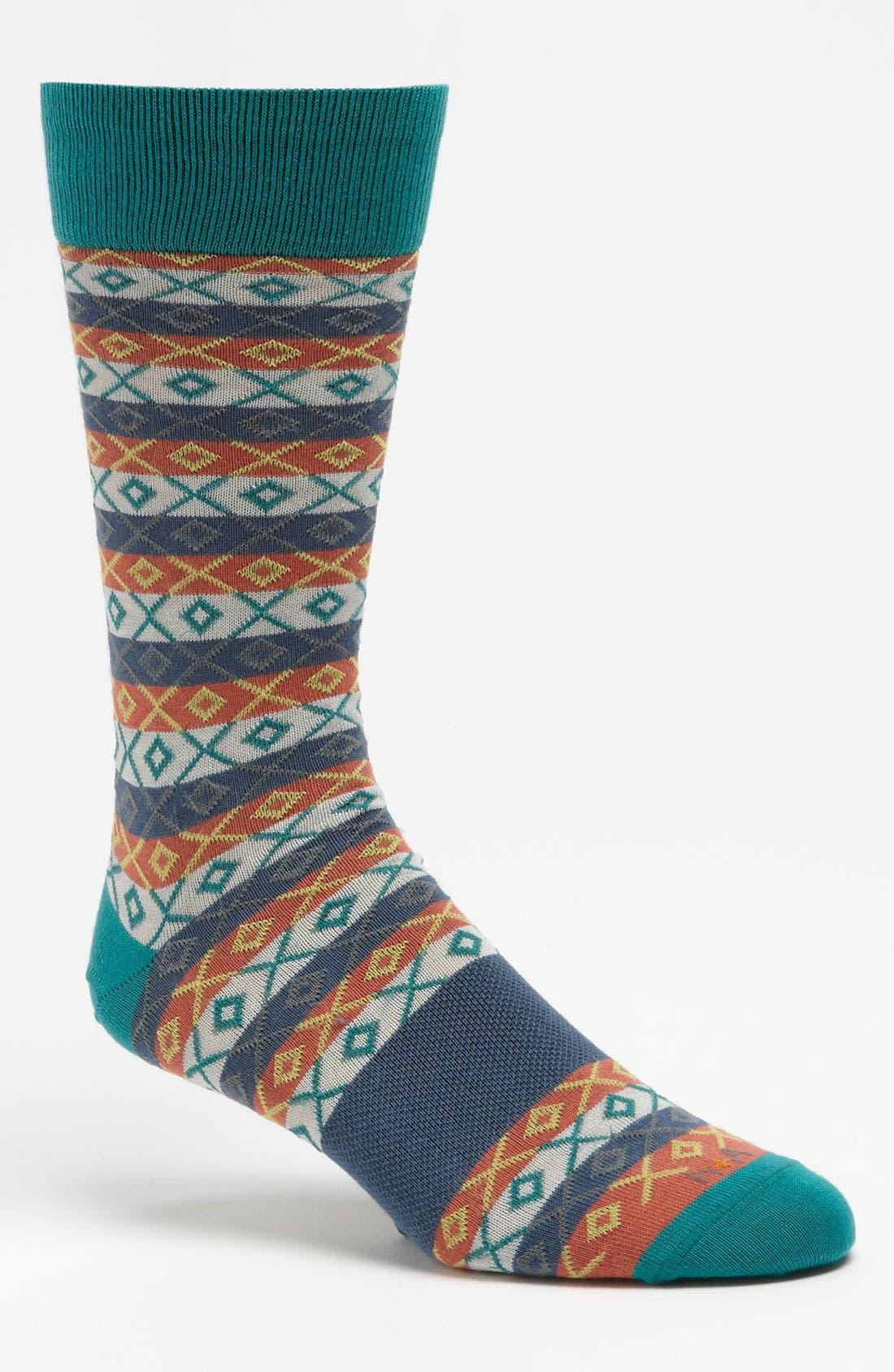 Main Image - hook + ALBERT Fair Isle Socks
