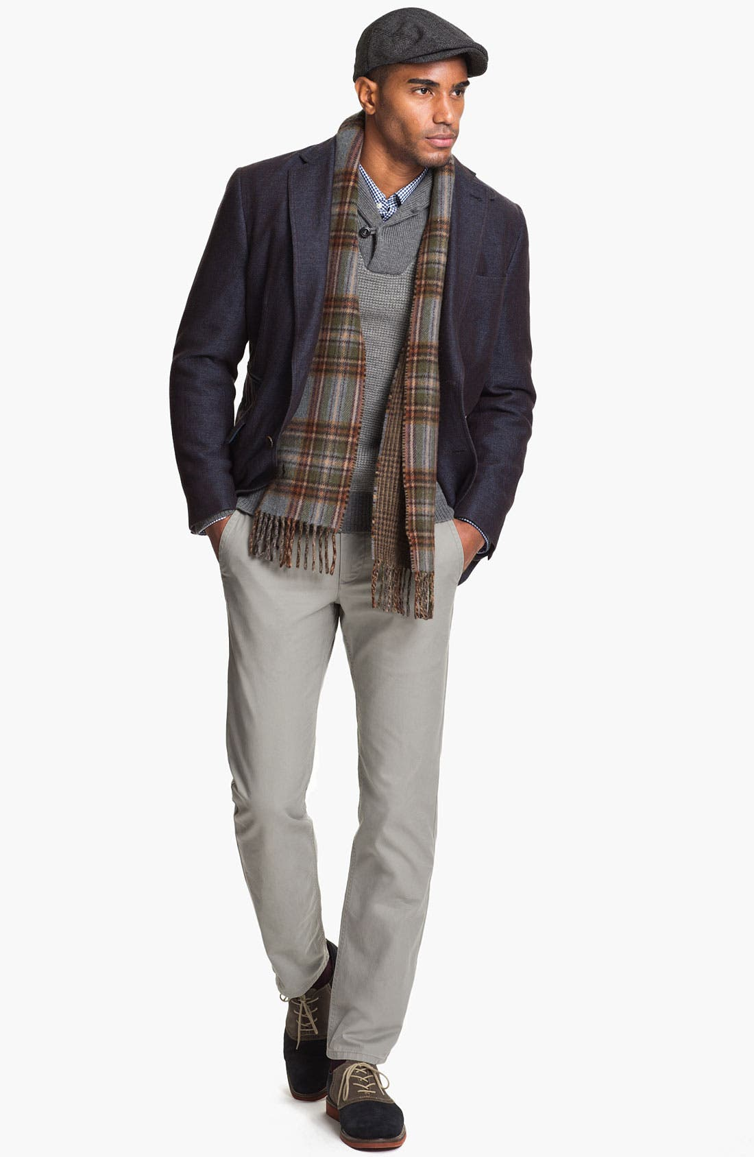 Alternate Image 3  - Kroon 'Waits' Linen & Wool Blend Sportcoat